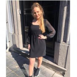 """little black dress"" French..."