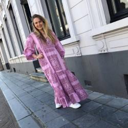 Maxi jurk Nalii Antik Batik