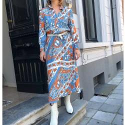 Maxi dress Leandra Antik Batik