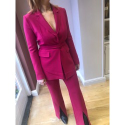 Fuchsia Blazer French...