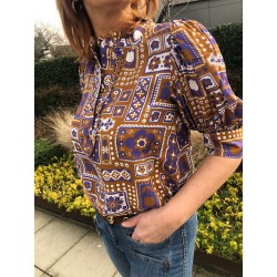 Blouse Honoka Antik Batik