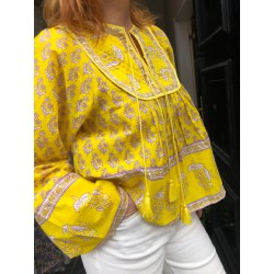 Mori Printed blouse Antik...